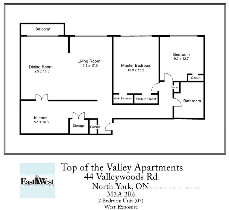 44 Valley Woods Rd, North York, ON : 2 Bedroom For Rent