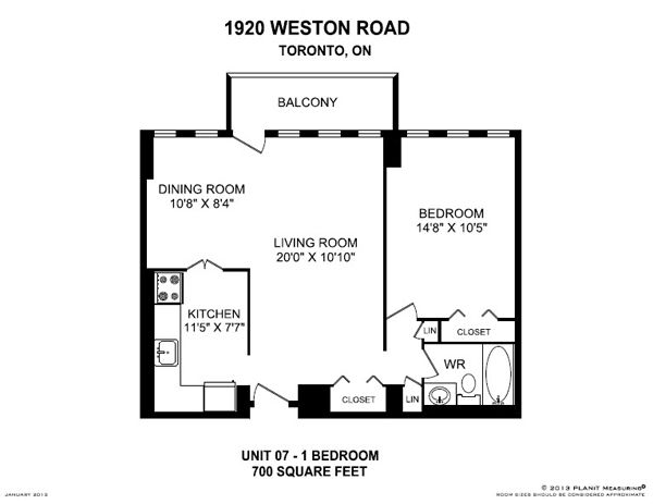 1920 Weston Rd York On 1 Bedroom For Rent York